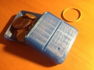 Travel loose change holder