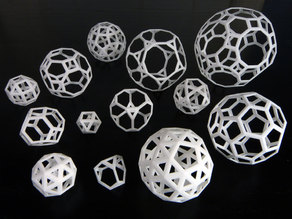 Archimedean polyhedra