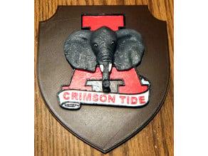 Alabama Crimson Tide Plaque