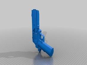 Custom Grip Sci-Fi Revolver