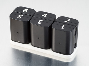 D-Li90 Battery Trays (Pentax)