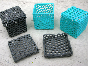 Box made from Hexagons