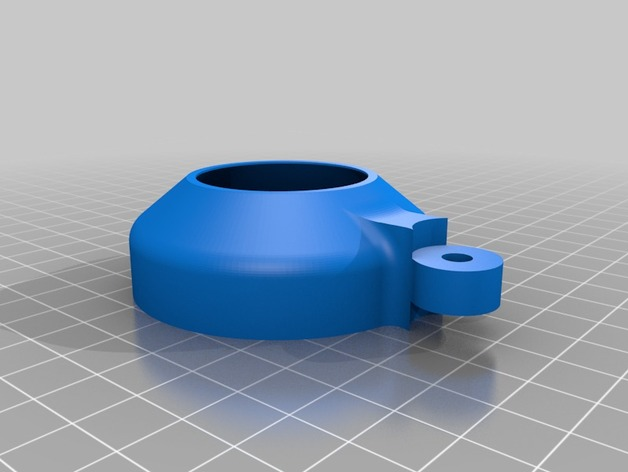 image of a Holder a Nikon Teleconverter suitable for 3D printing.