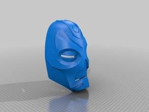 Skyrim Dragon Priest Mask Sliced
