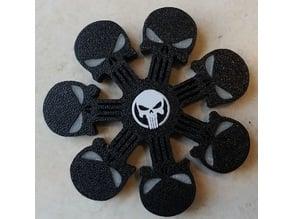 Punisher Fidget Spinner with Eyes