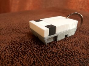«NES» console miniature  /keychain