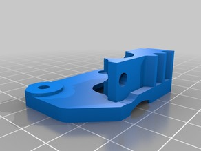 Wanhao Duplicator I3 - Improved Flexible Filament Extruder Plate