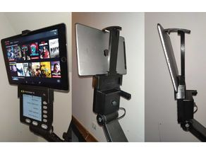 Concept 2 Rower Tablet support