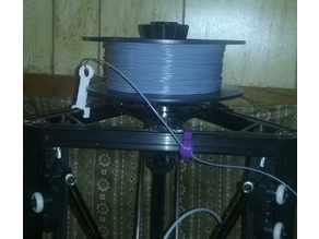 Kossel spool top mount extended remix
