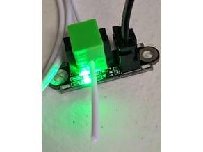 Optical Filament detector block