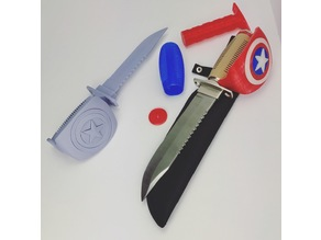 Captain America Trench Knife