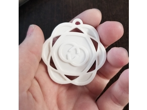 CallieCrossroads Maker Coin v2 Keychain