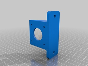 Titan Extruder mount for 3030 aluminum