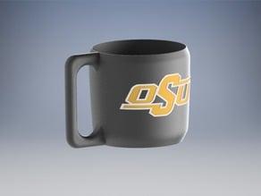 Custom Yeti handle with OSU logo