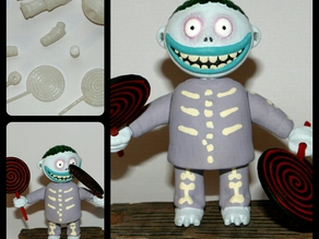 Nightmare Before Christmas - Barrel with Movable Joints