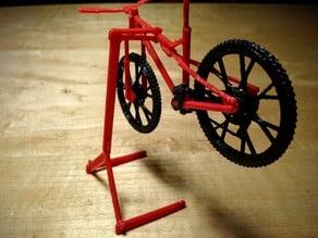 Snap-Together Model Bike Stand