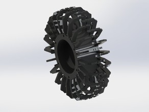 OPEN RC 3D Printed Rock Crawler Wheel