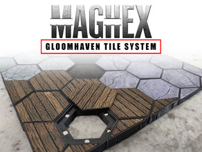 MagHex Tiles for Gloomhaven