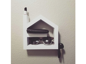 House Shaped Hangable Organizer