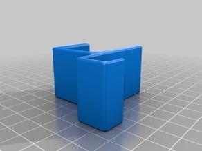 Magnet sensor holder for counter module