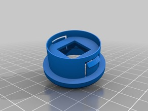 arcade pushbutton housing for cherry MX, non standard, V1.0