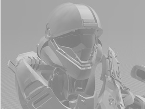 "Halo Sparton Full Size Helmet and Armour ""Buck"""