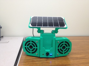 Solar Powered Stereo v2
