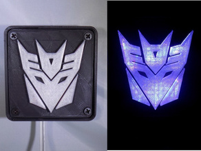 Decepticon Transformers LED Nightlight/Lamp
