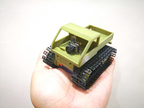 Tiny Snowcat FPV - the coolest Tiny Trak