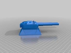 Battleship style  turret for 28mm wargames. Warhammer, warpath ect