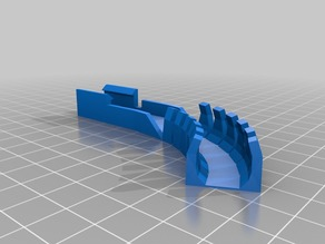 Splint for heated bed plate (HBP) connector on older MakerGear M2s