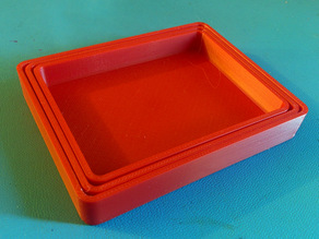Customizable Nested Parts Trays