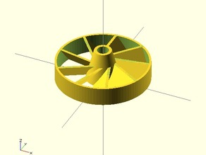 Ducted Fanwheel
