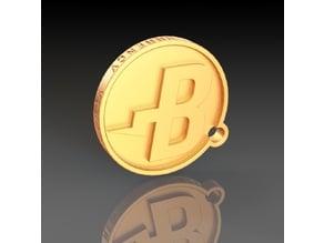BURSTCOIN Key-chain Thingy