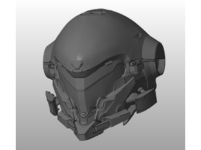 Halo 5 Copperhead Helmet