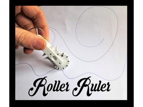 Geneva Roller Ruler, Pocket Sized Infinite Ruler