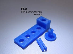 PLA Pin Connectors v2