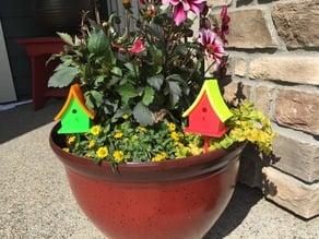 Flower Pot Birdhouse