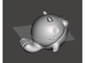 POkemon - 海豹球