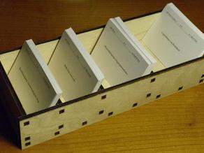 Leitner's learning box