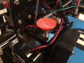 Anet A8 Filament Loading Button (thumb saver)