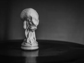 Cthulhu Chess Piece