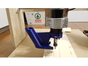 CNC spindle vacuum holder