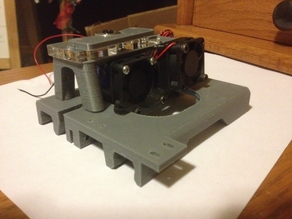 Carriage for the E3D v6 J type Hot End