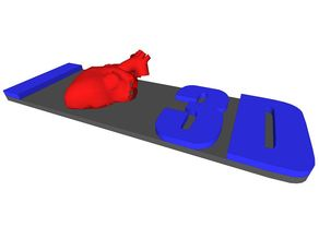 Human Heart - I Love 3D