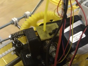 Filament feeder for Greg's Hinged Accessible Extruder
