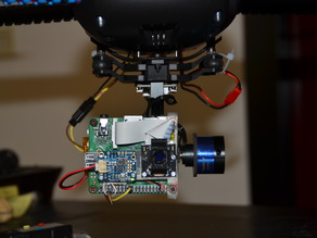 RasPi camera for Tarot T2D Gimbal