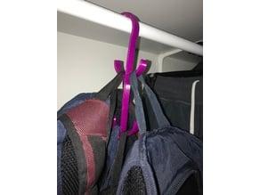 Warbrobe Backpack Holder