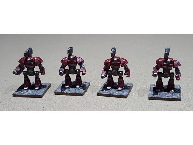 Epic Scale Crusader Scout Robots by chris262 - Thingiverse