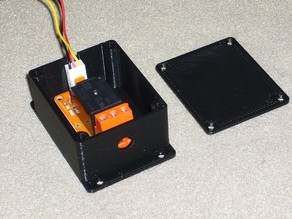 Case and lid for Tinkerkit T010010 Relay Module